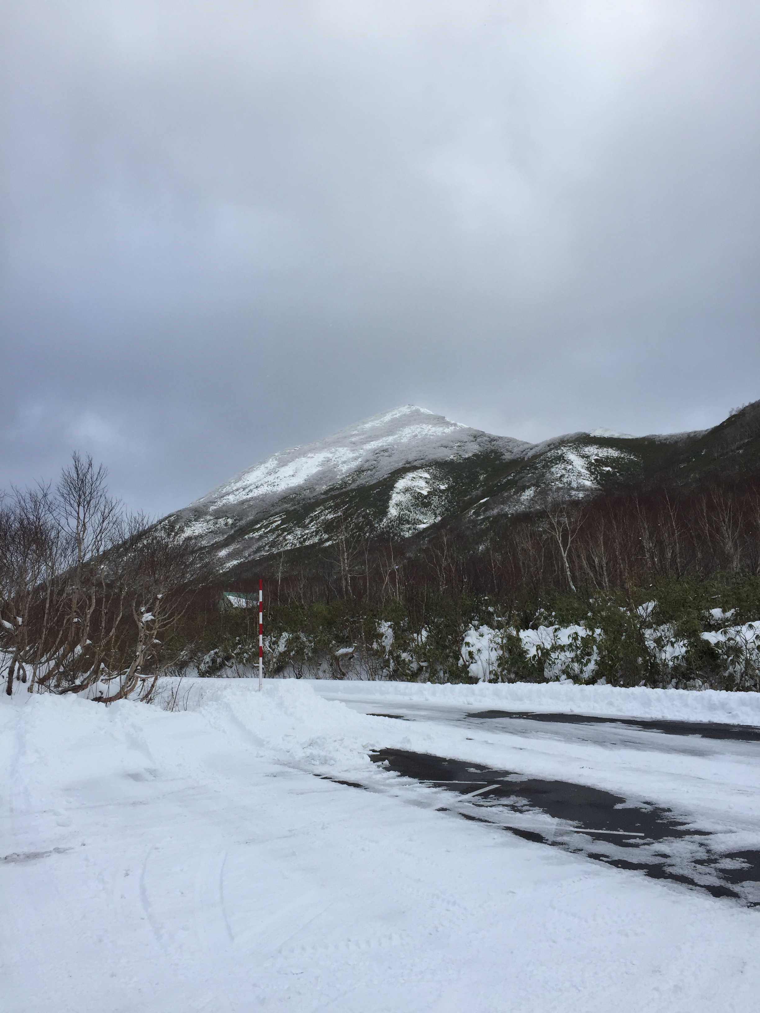 Westside of (Mt.) Niseko Annupuri 25 November