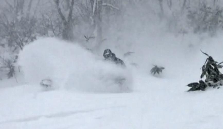 increw screen capture ridig deep powder snow