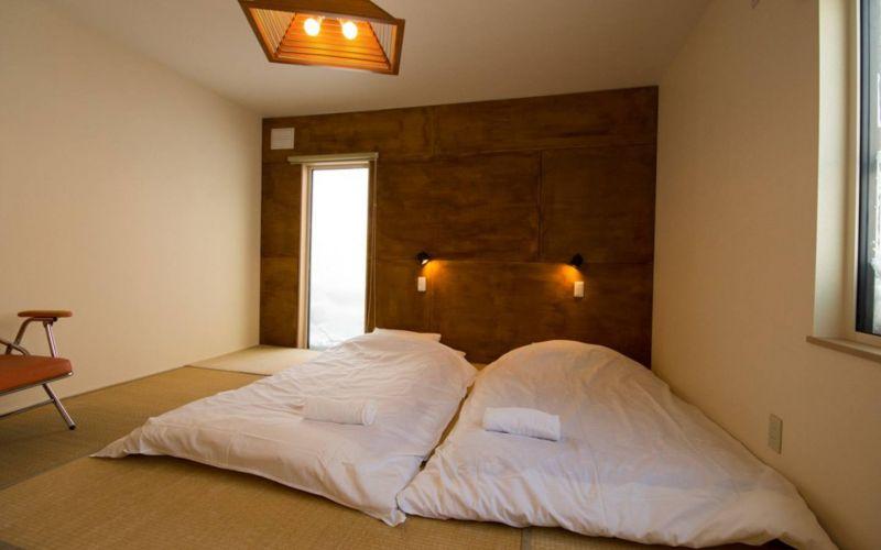 modern tatami bedroom in Japan