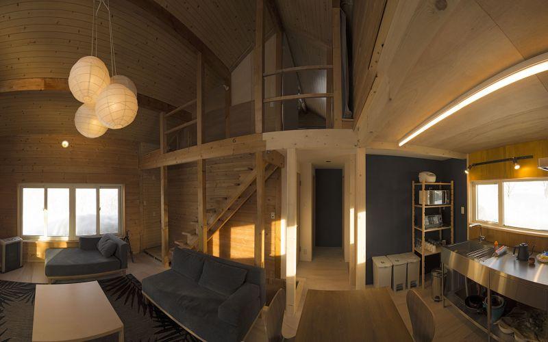Niseko Tanuki Cave Living Area