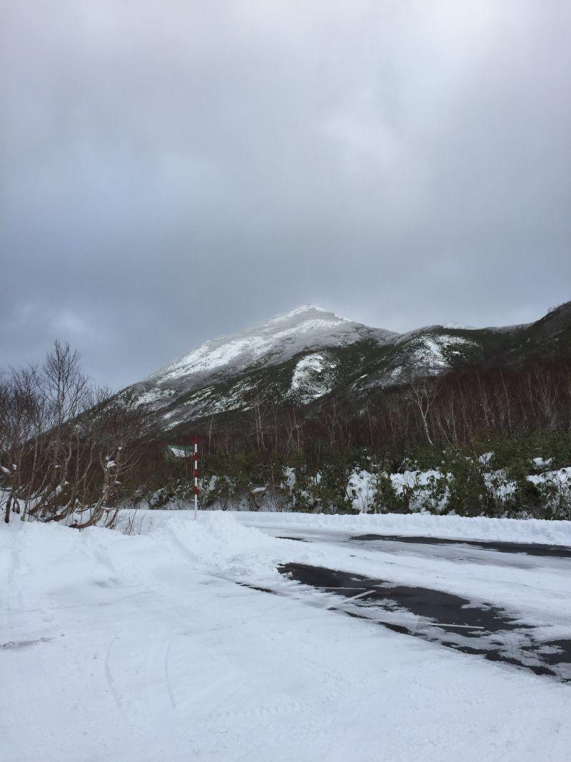 Westside of (Mt.) Niseko Annupuri 25 November